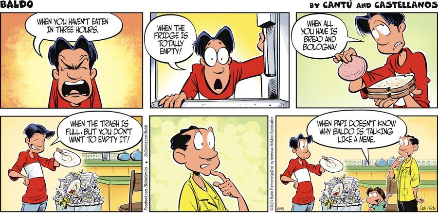 Baldo Comic Strip for June 13, 2021
