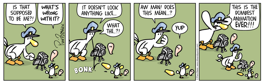 Ollie and Quentin Comic Strip for September 14, 2019