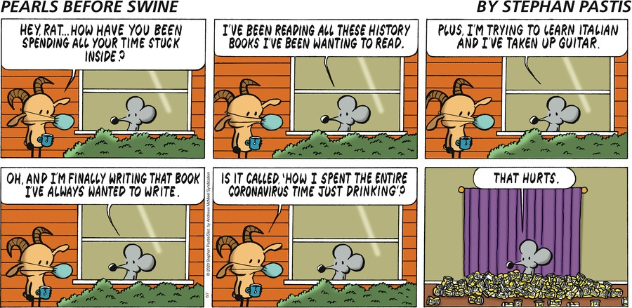 Pearls Before Swine Comic Strip for June 07, 2020