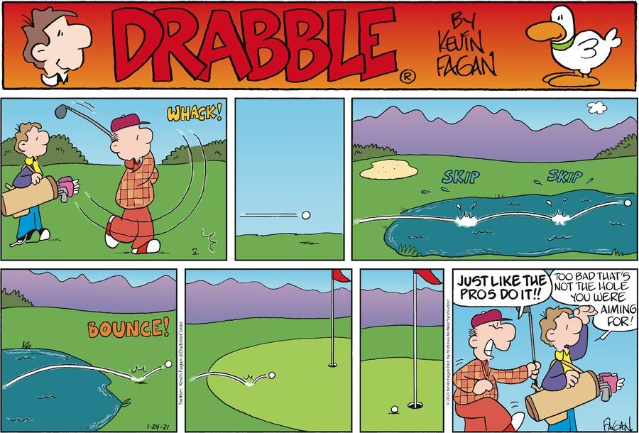 Drabble Comic Strip for January 24, 2021