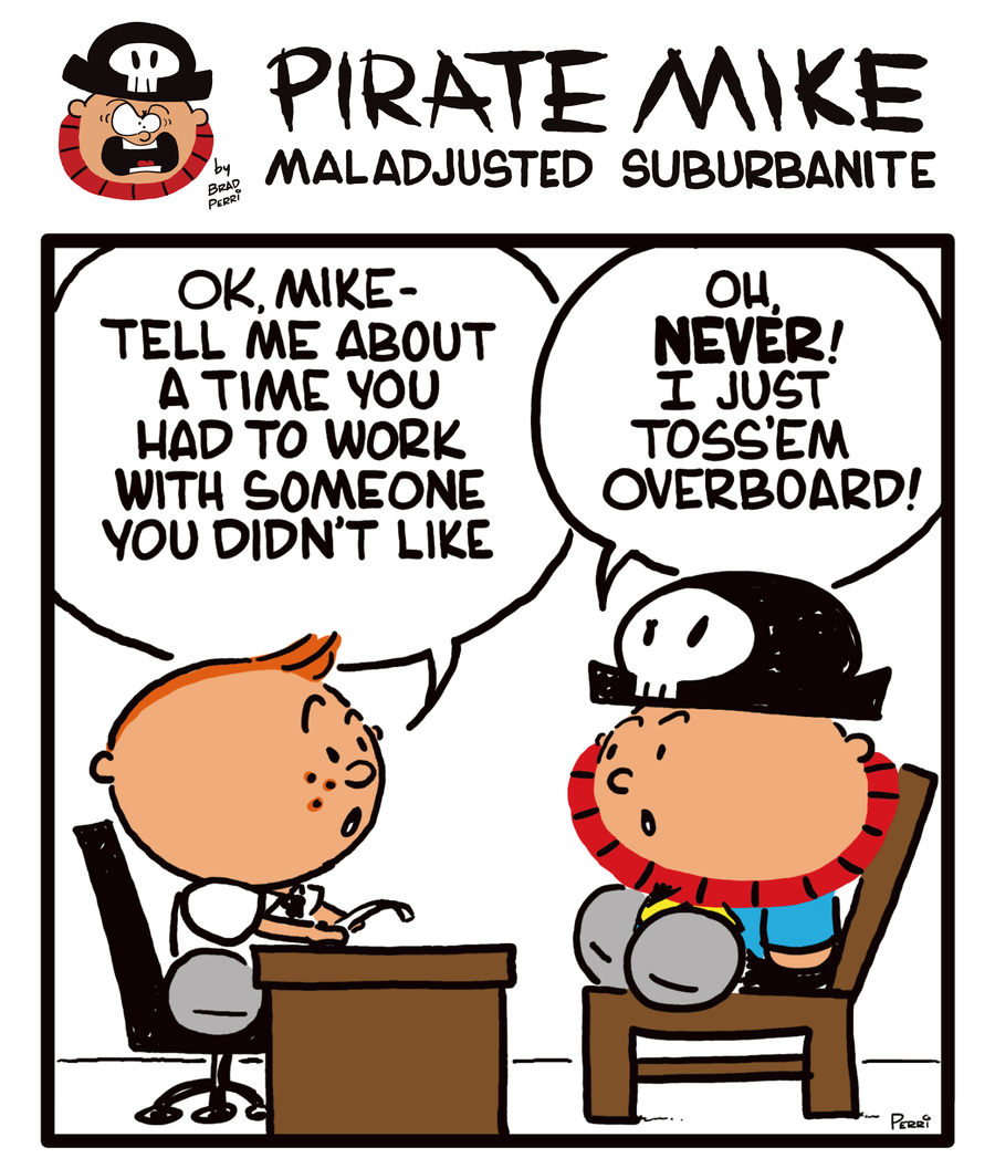 Pirate Mike Comic Strip for October 30, 2020