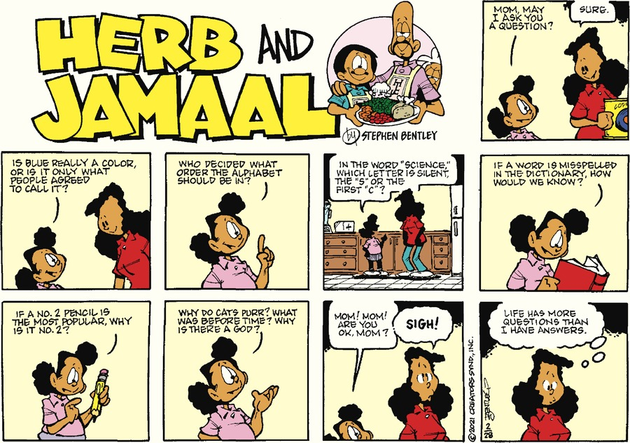 Herb and Jamaal Comic Strip for February 28, 2021