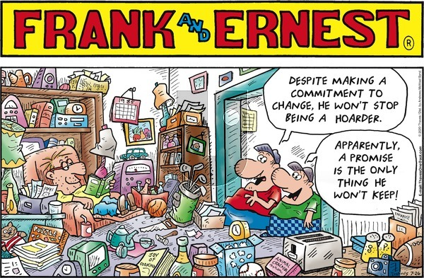 Frank and Ernest on Sunday July 26, 2020 Comic Strip