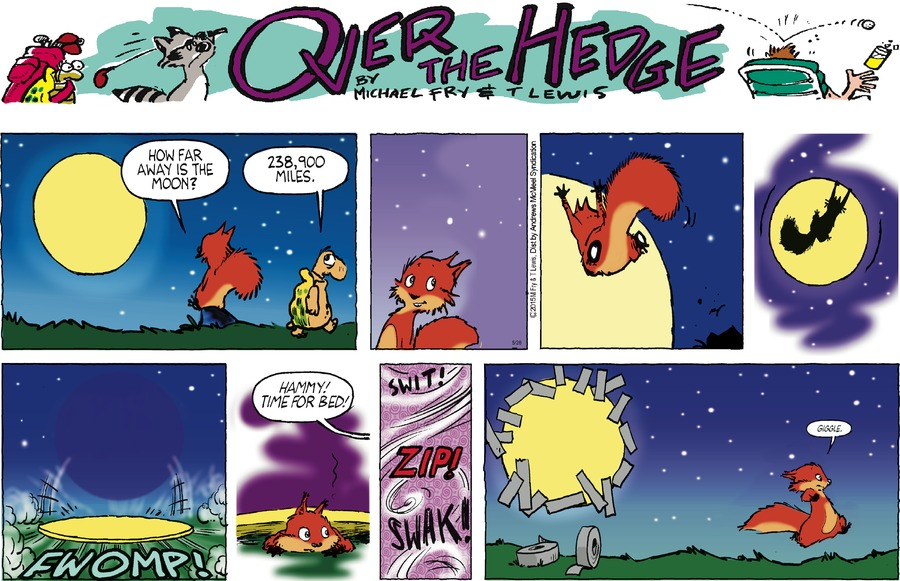 Over the Hedge Comic Strip for May 26, 2019