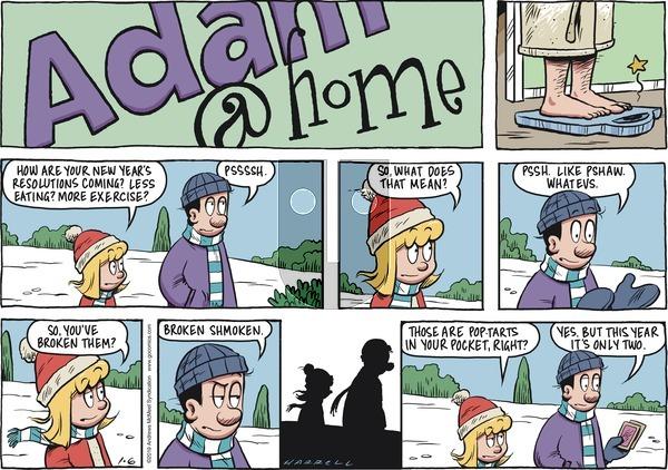 Adam@Home on Sunday January 6, 2019 Comic Strip