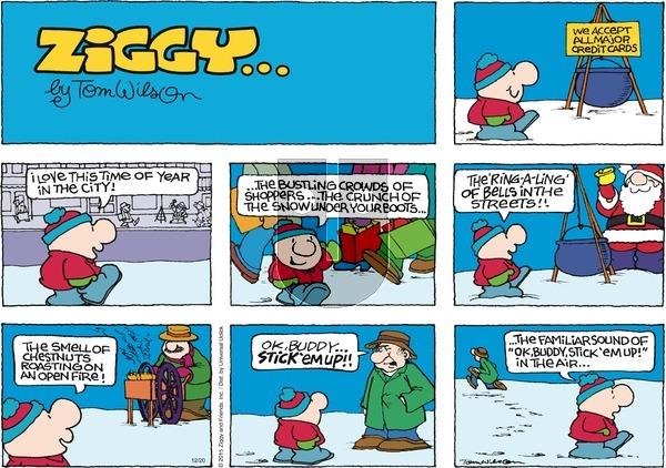 Ziggy on Sunday December 20, 2015 Comic Strip