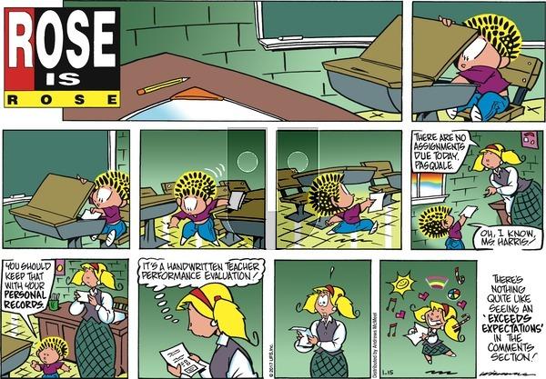 Rose is Rose on Sunday January 15, 2017 Comic Strip