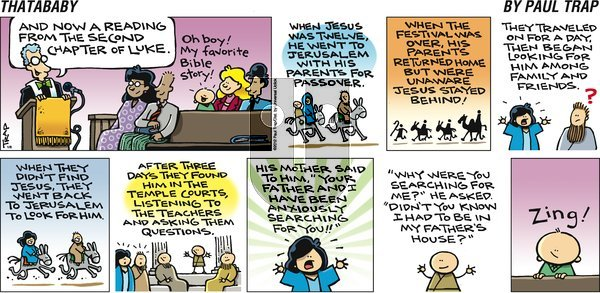 Thatababy on Sunday January 8, 2012 Comic Strip