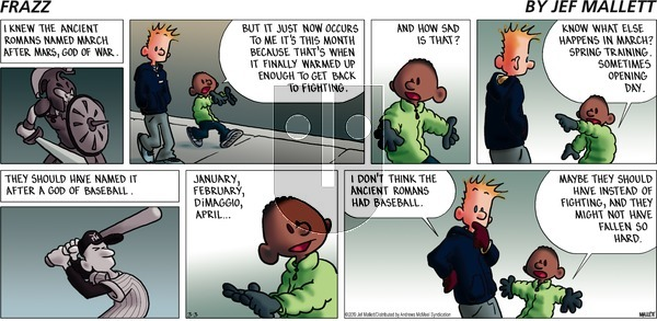 Frazz on Sunday March 3, 2019 Comic Strip