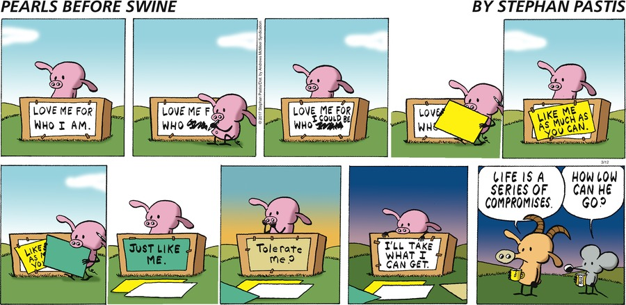 Pearls Before Swine Comic Strip for March 12, 2017