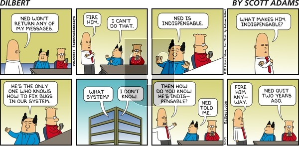 Dilbert on Sunday May 12, 2019 Comic Strip