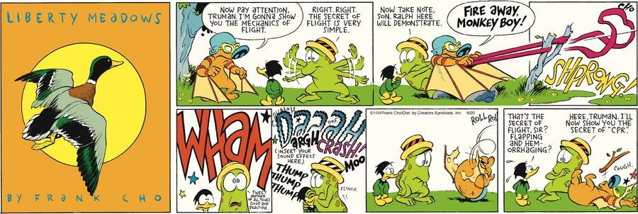 Liberty Meadows for Aug 25, 2013 Comic Strip