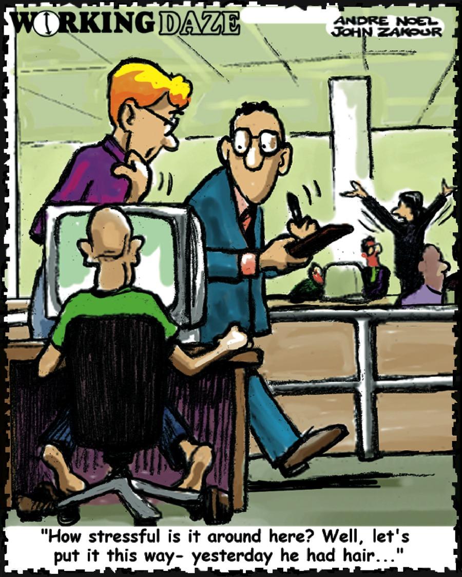 Working Daze for Feb 17, 2002 Comic Strip