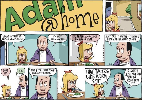 Adam@Home on Sunday March 8, 2020 Comic Strip