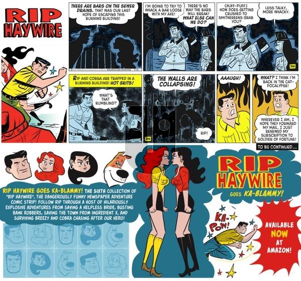 Rip Haywire on Sunday April 2, 2017 Comic Strip
