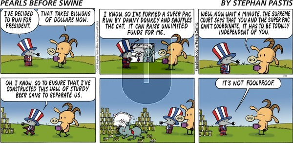 Pearls Before Swine on Sunday February 28, 2016 Comic Strip