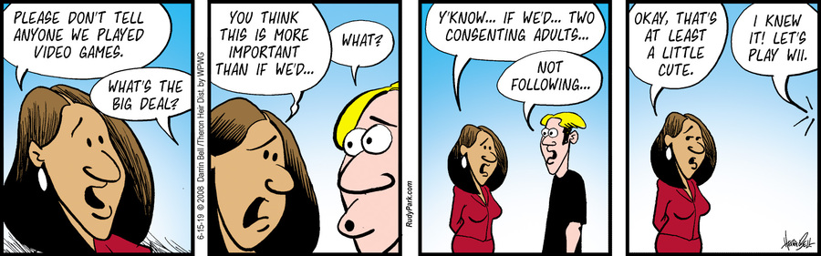 Rudy Park Comic Strip for June 15, 2019