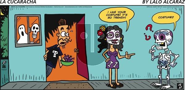 La Cucaracha on Sunday October 27, 2019 Comic Strip