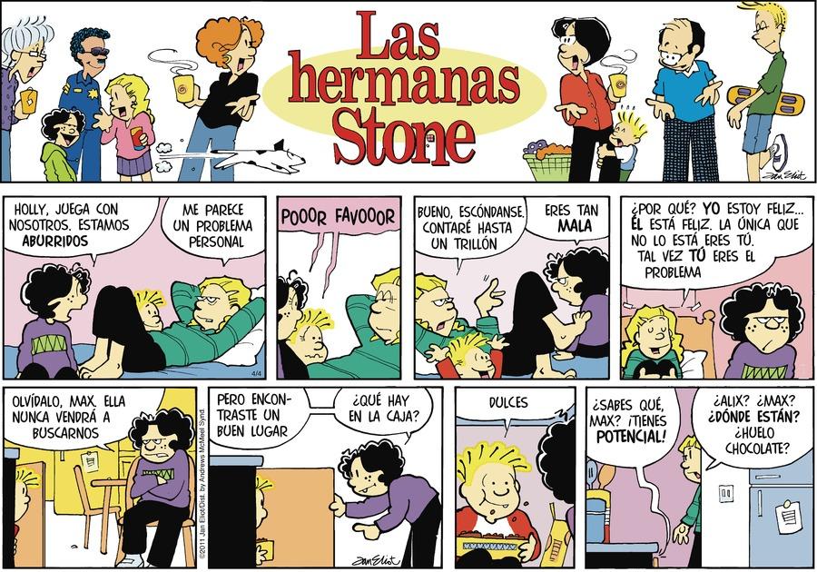 Las Hermanas Stone Comic Strip for April 04, 2021