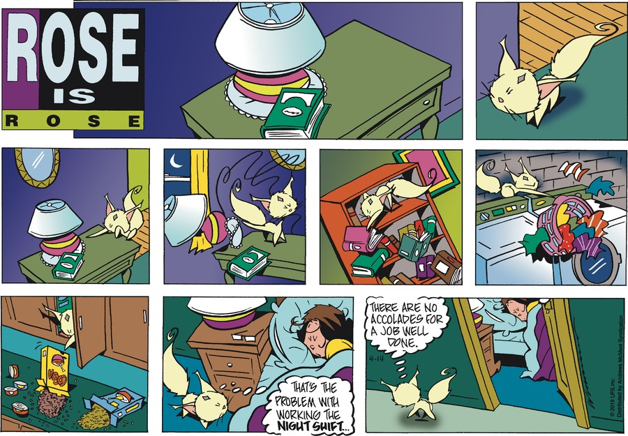 Rose is Rose Comic Strip for April 14, 2019