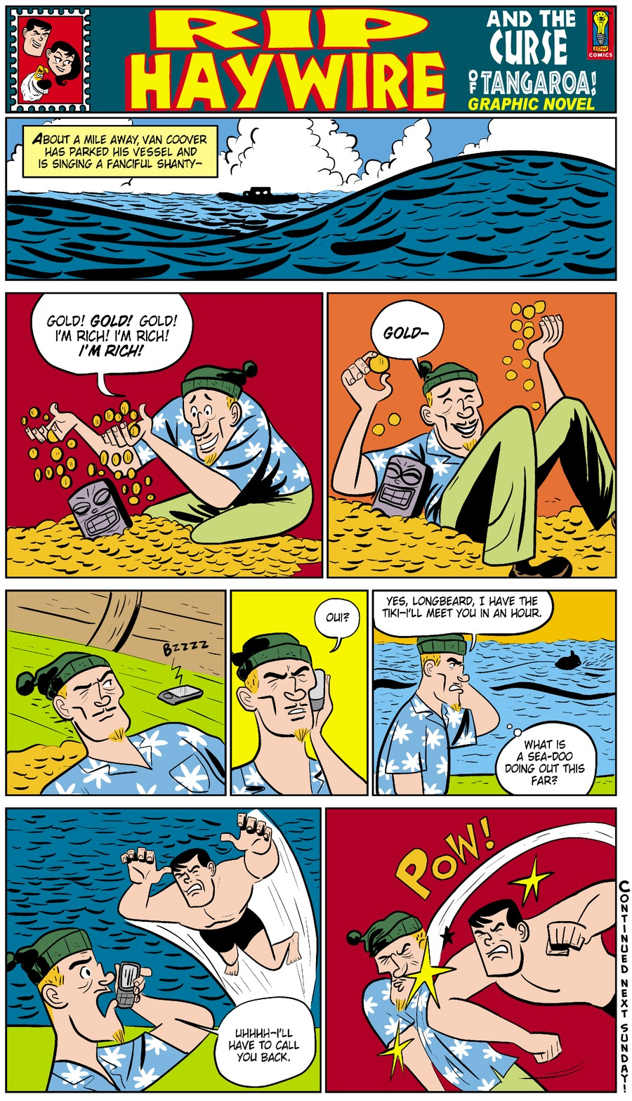 Rip Haywire Comic Strip for November 23, 2014