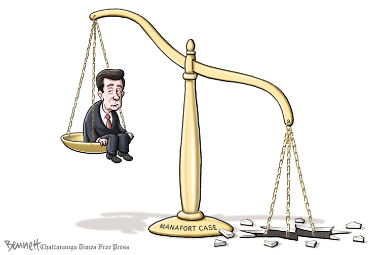 Clay Bennett for Aug 8, 2018 Comic Strip