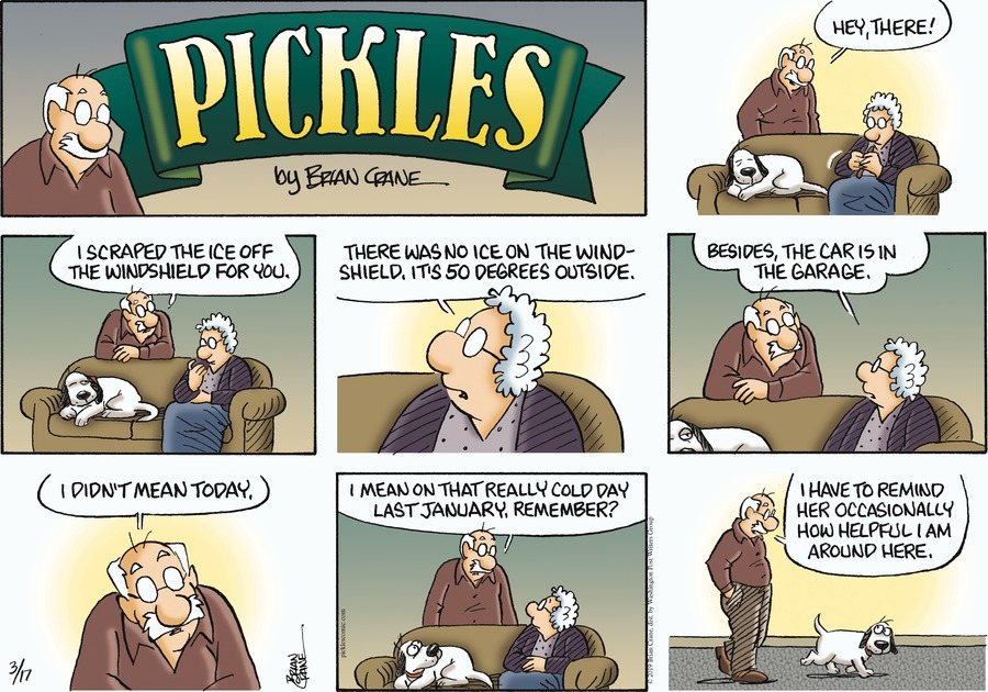 Pickles by Brian Crane for March 17, 2019