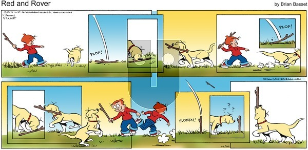 Red and Rover - Sunday October 27, 2019 Comic Strip