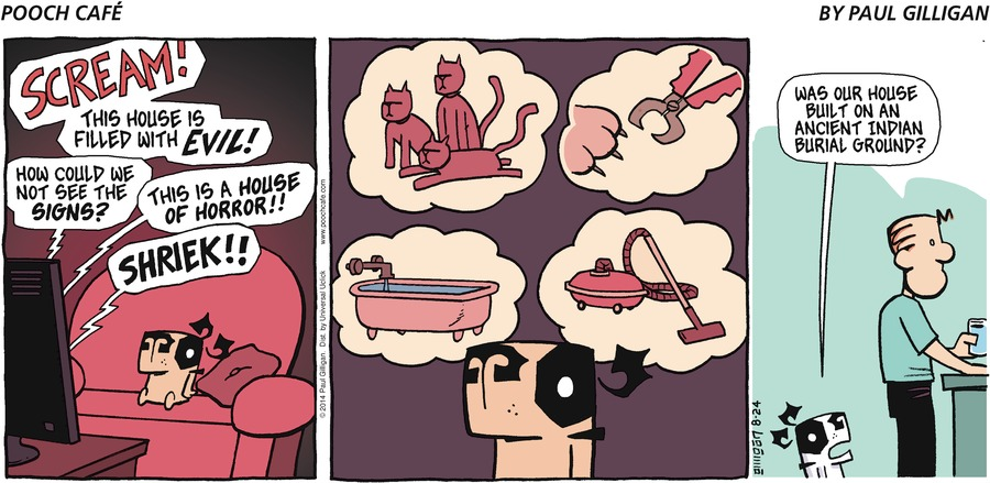 Pooch Cafe Comic Strip for August 24, 2014