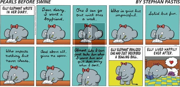 Pearls Before Swine on Sunday August 19, 2018 Comic Strip