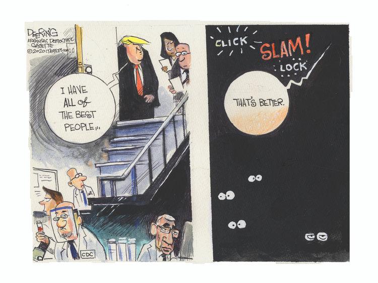 John Deering Comic Strip for July 16, 2020