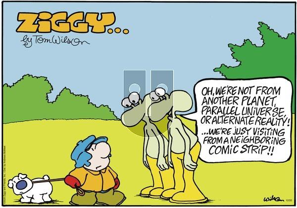 Ziggy on Sunday December 20, 2020 Comic Strip