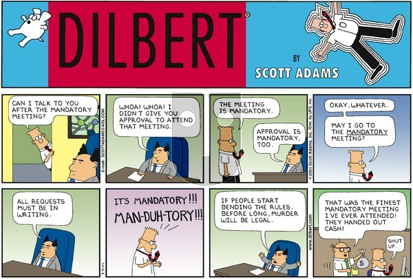 Dilbert - Sunday May 9, 2004 Comic Strip