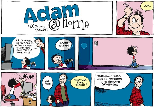 Adam@Home on Sunday July 22, 2007 Comic Strip