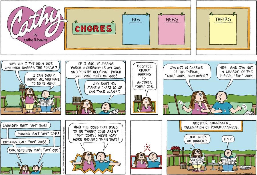 Cathy for Jun 24, 2007 Comic Strip