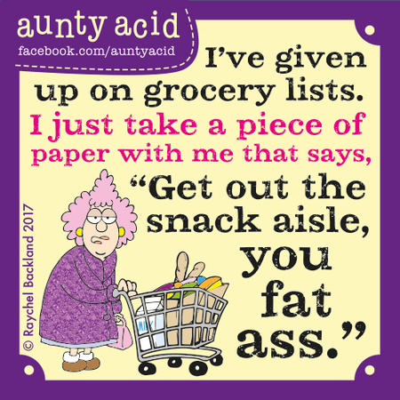 Aunty Acid for May 10, 2017 Comic Strip