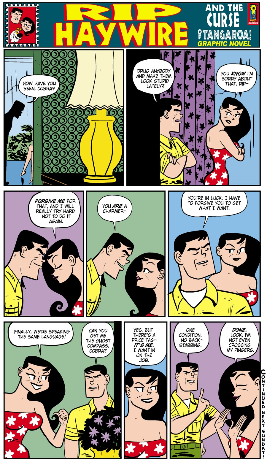 Rip Haywire Comic Strip for October 13, 2013