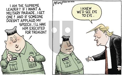 Robert Ariail on Sunday February 11, 2018 Comic Strip