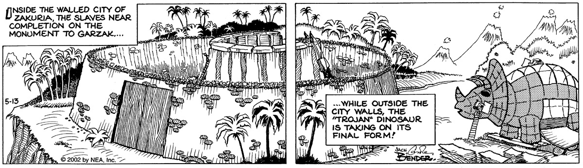 Alley Oop for May 13, 2002 Comic Strip