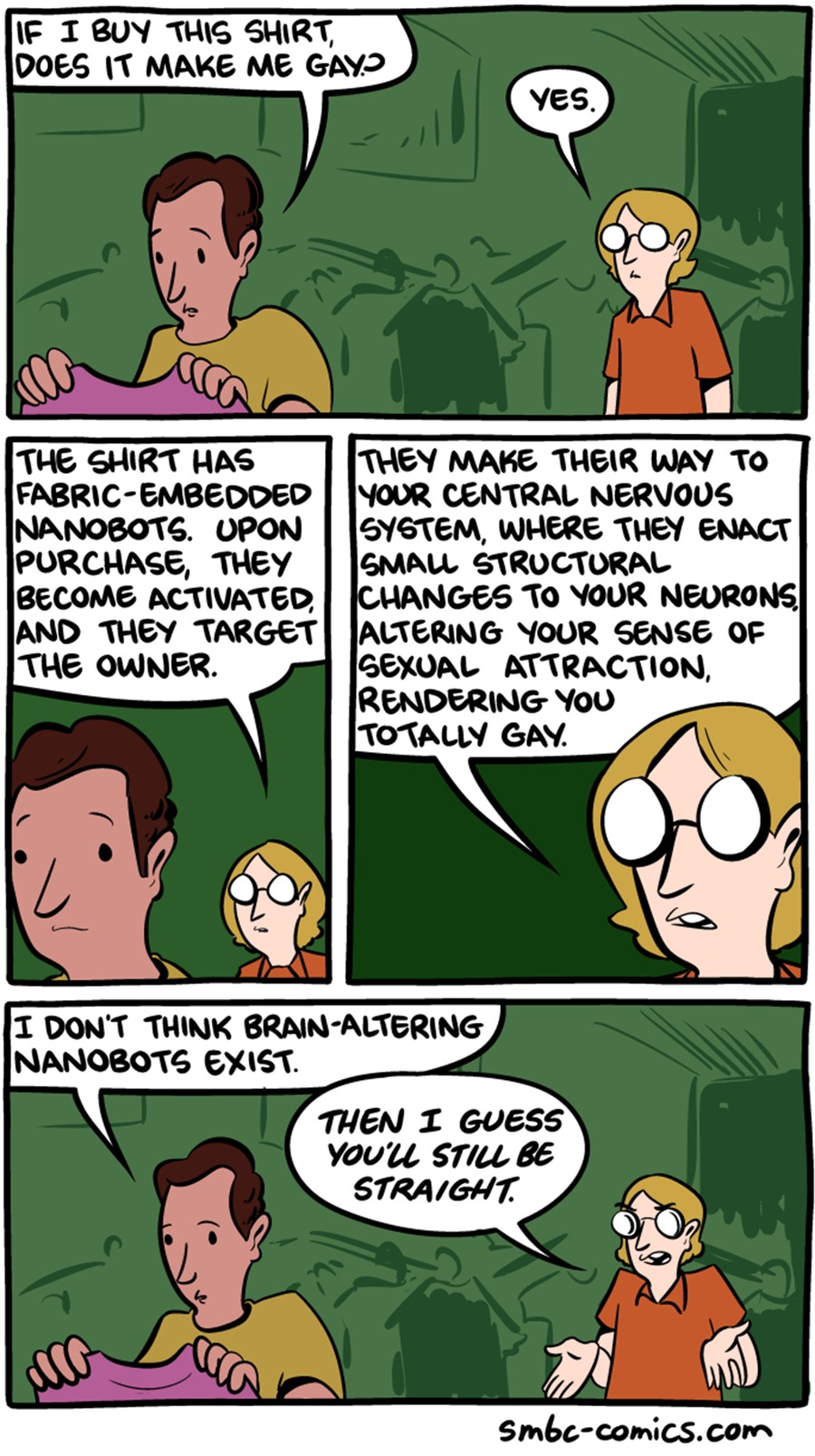 Saturday Morning Breakfast Cereal Comic Strip for January 08, 2017