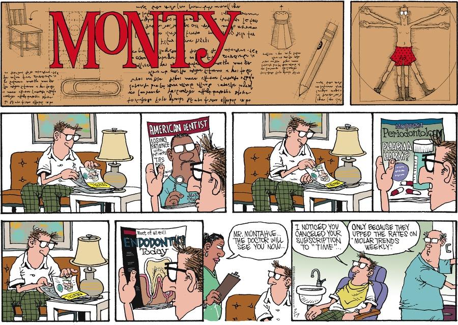 Monty for Jul 17, 2016 Comic Strip