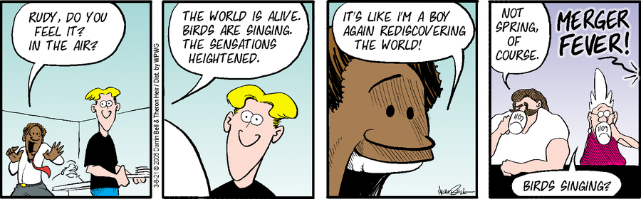 Rudy Park Comic Strip for March 08, 2021