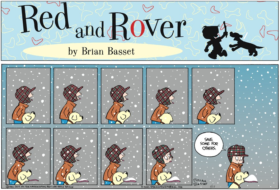 Red and Rover for Jan 21, 2001 Comic Strip