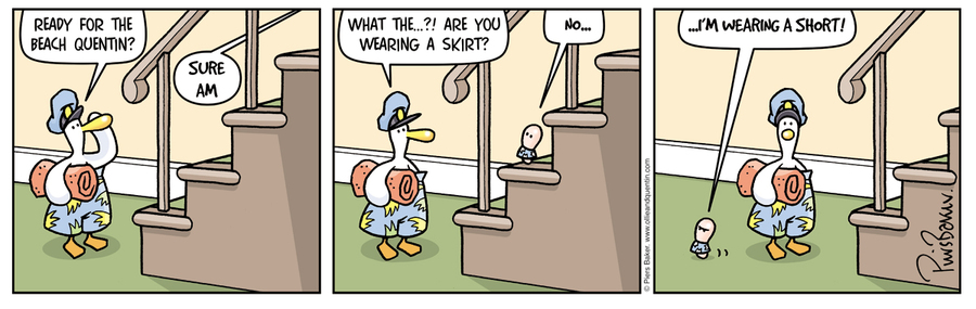 Ollie and Quentin for Nov 19, 2012 Comic Strip