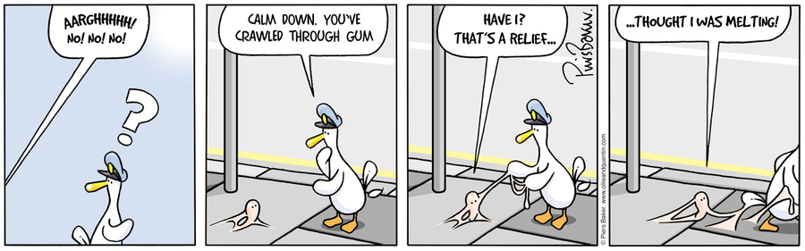 Ollie and Quentin for Sep 11, 2012 Comic Strip