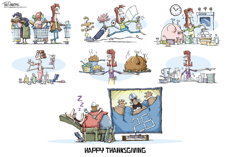 Tim Campbell for Nov 21, 2017 Comic Strip