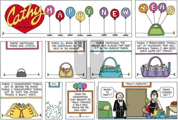 Cathy Classics on Sunday December 31, 2006 Comic Strip