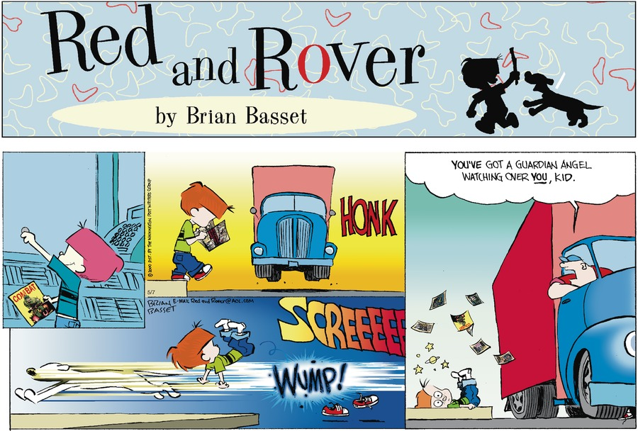Red and Rover Comic Strip for May 07, 2000
