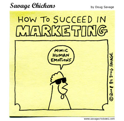 How to succeed in marketing.