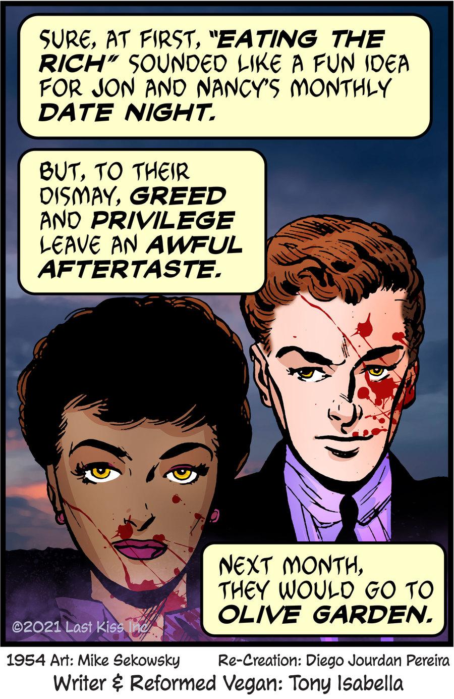 Last Kiss Comic Strip for October 13, 2021